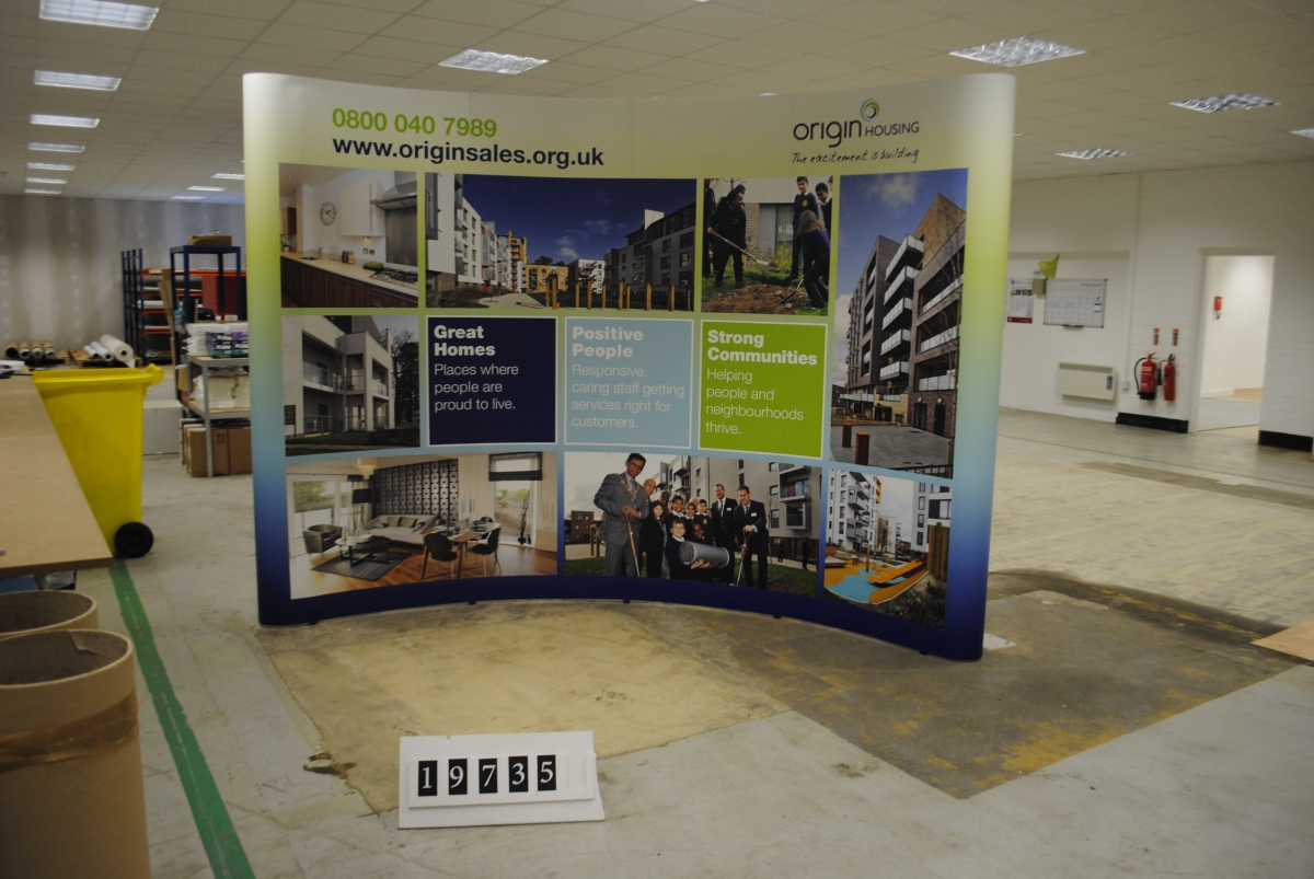Origin Housing Exhibition Display Home Design Marketing
