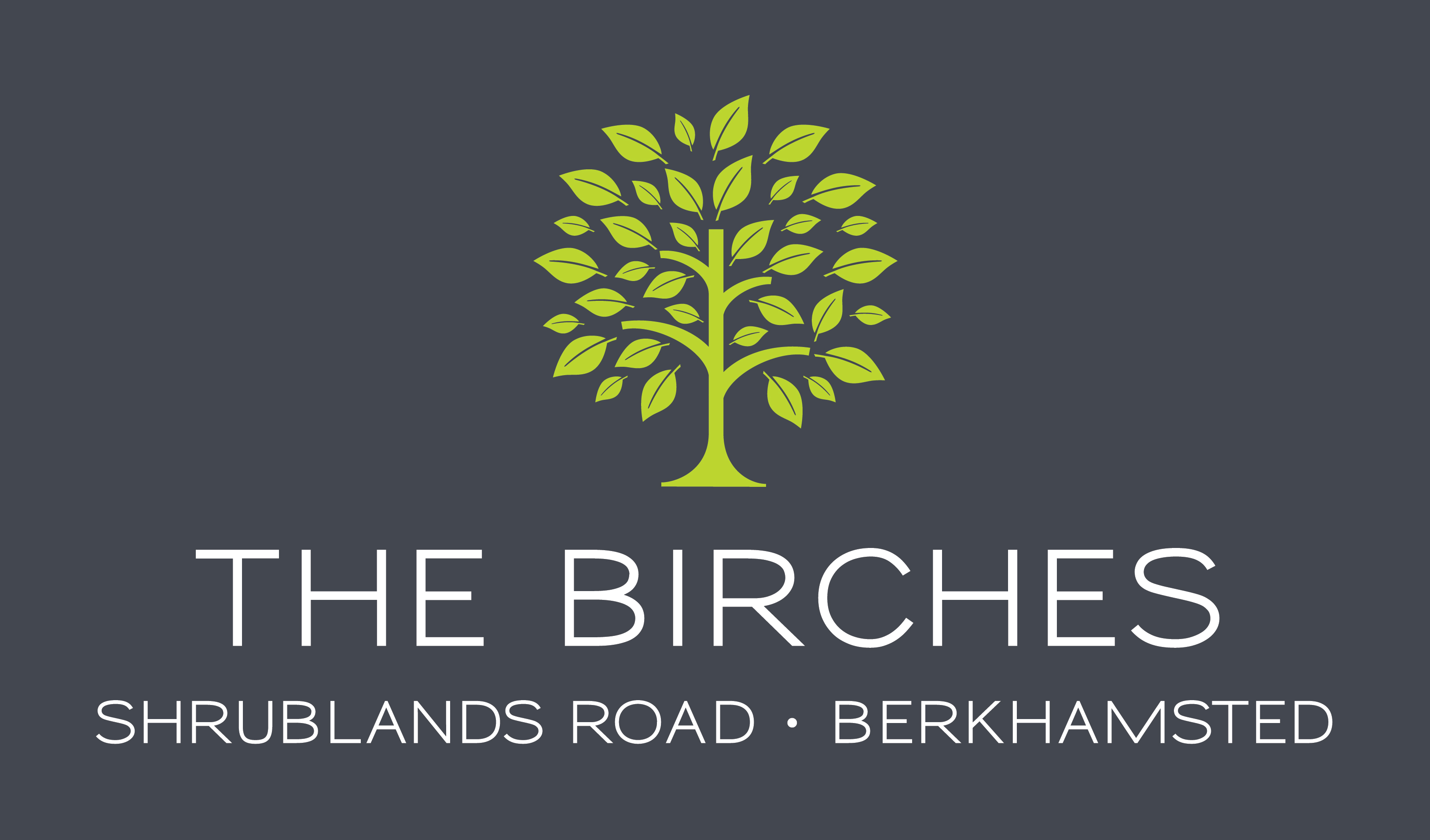 the_birches_logo_reversed_grey_bkgd