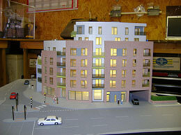 AXIS Finchley Scale Model