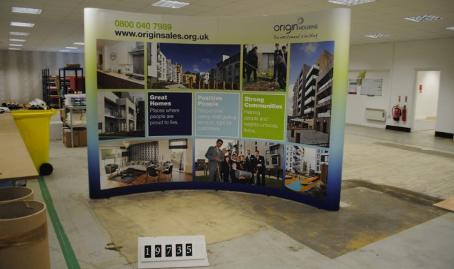 Origin Housing Exhibition Display