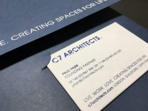 C7 Architects Stationery