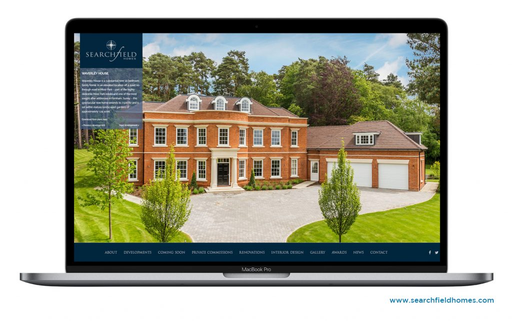 Searchfield Homes Website